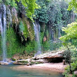 Antalya Perge Side Aspendos & Kursunlu Waterfalls Tour