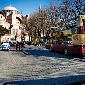Big Bus Istanbul Hop-On Hop-Off Classic or Premium Ticket