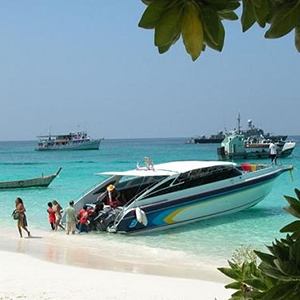 Coral Island Tour with Lunch by Speed Boat - Indian market