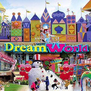 Full Day Dream World Tour include Snow Town 8, lunch