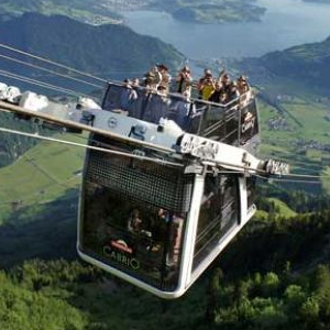 Full Day Stanserhorn - Open Top Cable Car SIC