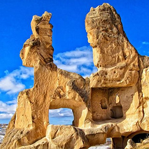 Full Day Tour of Cappadocia Region & Goreme Open Air Museum with Lunch