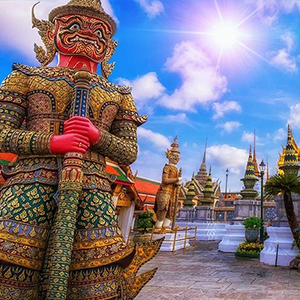 Grand Palace, Emerald Buddha
