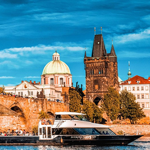 Half Day Vltava river cruise, Lunch or Dinner