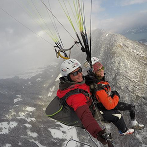 Interlaken Tandem Paragliding Flight Experience