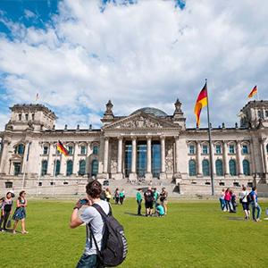 Parliament quarter, Reichstag, Plenarsaal