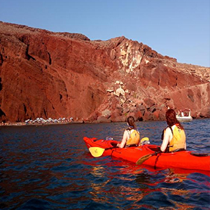 Santorini Morning Sea Kayak Tour