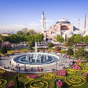 Topkapi, Hagia Sophia, Blue Mosque, Hippodrome & Bazaar