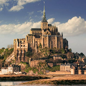 Unguided Excursion to Mont Saint Michel from Paris
