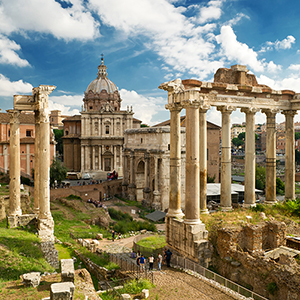 Vatican Colosseum and Roman Forum