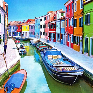 Venetian Islands Half-Day Boat Tour Murano, Burano & Torcello Cruise